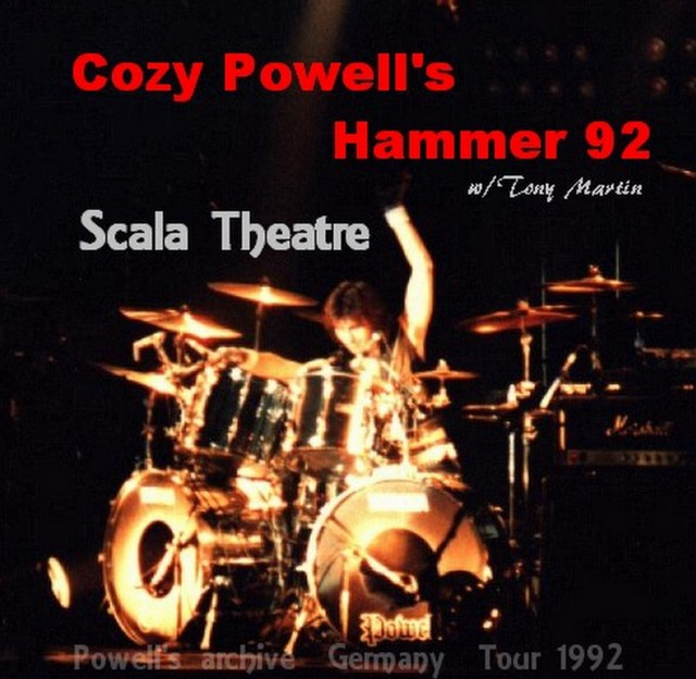 Cozy Powell's Hammer w/ Tony Martin Germany Tour 92/Ludwigsburg, Germany92.11.17