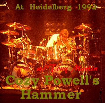 Cozy Powell's Hammer w/ Tony Martin Germany Tour 92/Heidelberg, Germany92.11.19