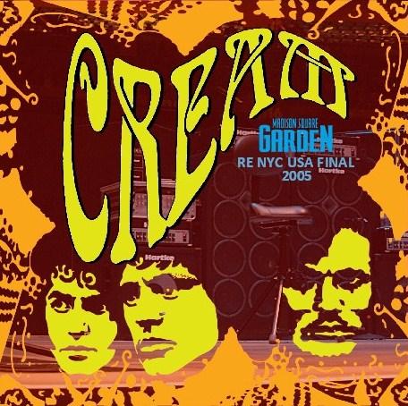 コレクターズCD CREAM 2005年 NYC