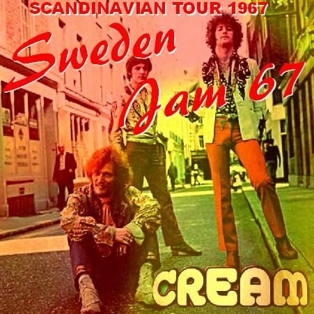 コレクターズCD CREAM(w/エリッククラプトン 1967年 SCANDINAVIAN Tour)