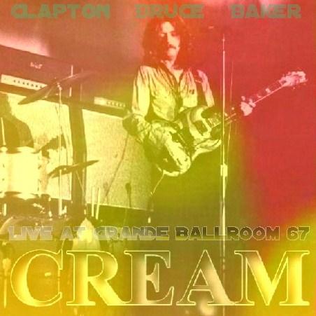 コレクターズCD CREAM(w/エリッククラプトン 1968年アメリカツアー)