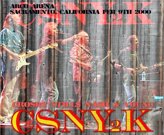コレクターズCD クロスビー・スティルス・ナッシュ&ヤング(Crosby, Stills, Nash & Young) 2000 年 アメリカツアー(CSNY2K Tour )