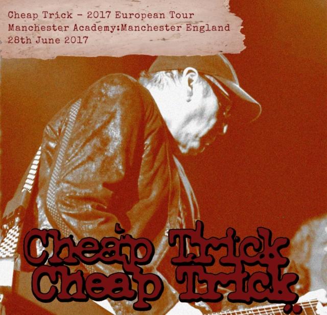 コレクターズCD チープトリック2017年ヨーロッパツアー