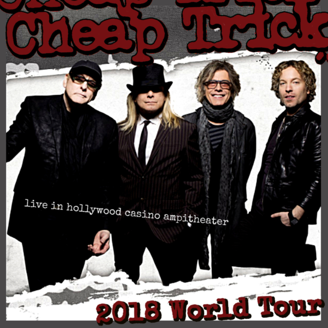 コレクターズCD Cheap Trick - 2018 World Tour