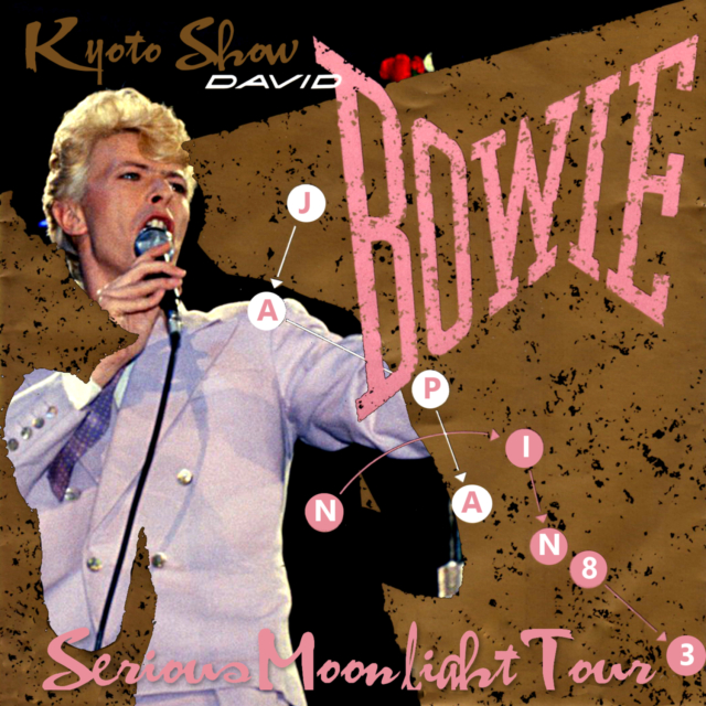 コレクターズCD David Bowie - Serious Moonlight Japan Tour 1983 Final