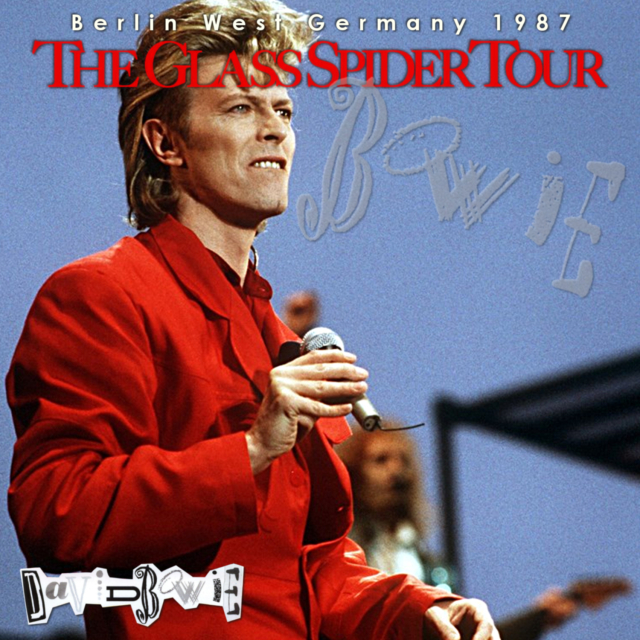 コレクターズCD David Bowie - Glass Spider European Tour 1987