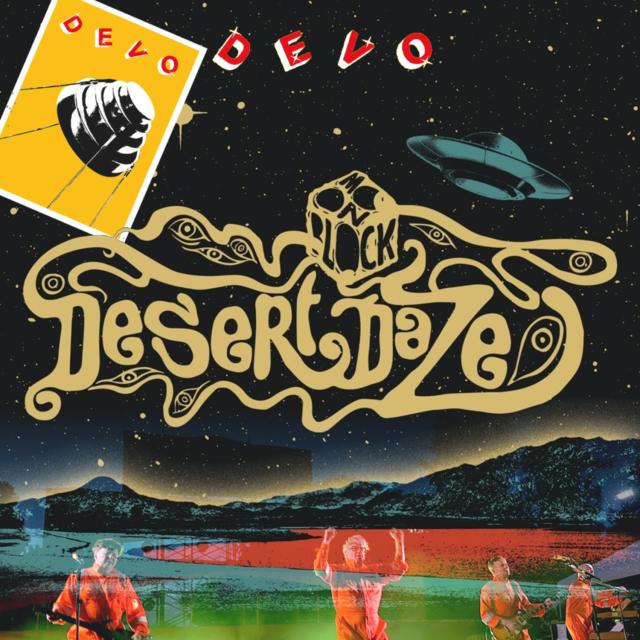コレクターズCD DEVO - Desert Daze Festival 2019