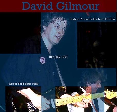 コレクターズCD デビットギルモア1984年アメリカツアー