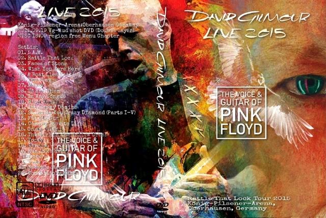 コレクターズDVD デヴィッド・ギルモア 2015年ヨーロッパツアー ドイツ