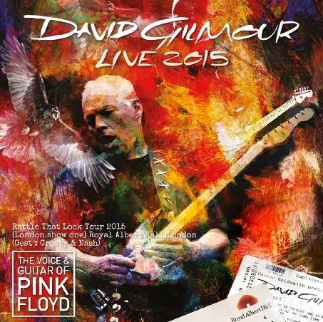 コレクターズCD デヴィッド・ギルモア 2015年ヨーロッパツアー RAH