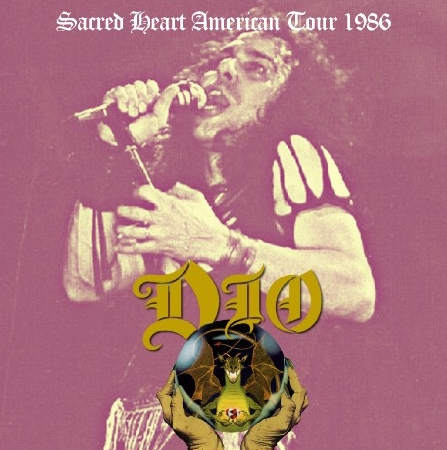 コレクターズCD ディオ (Dio)1986年アメリカツア-