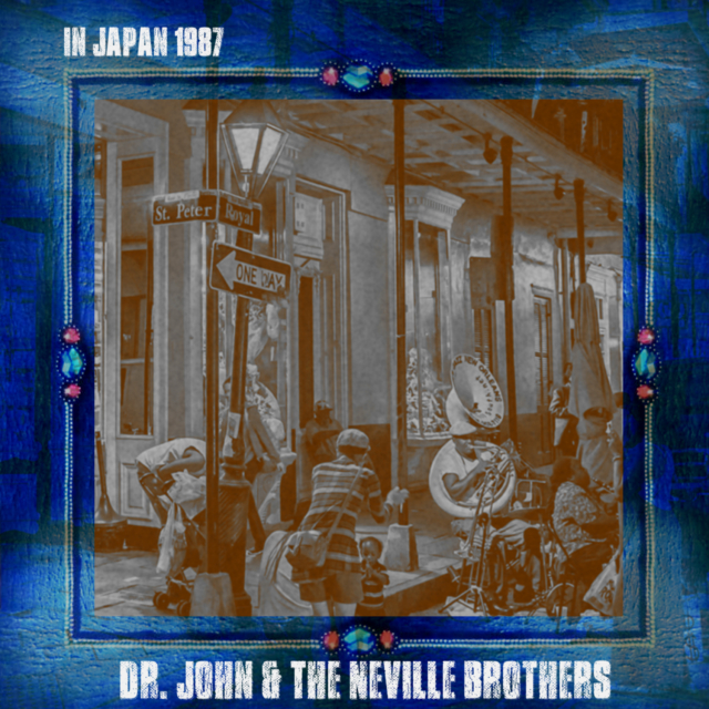 コレクターズCD Dr. John & The Neville Brothers - Japan Tour 1987