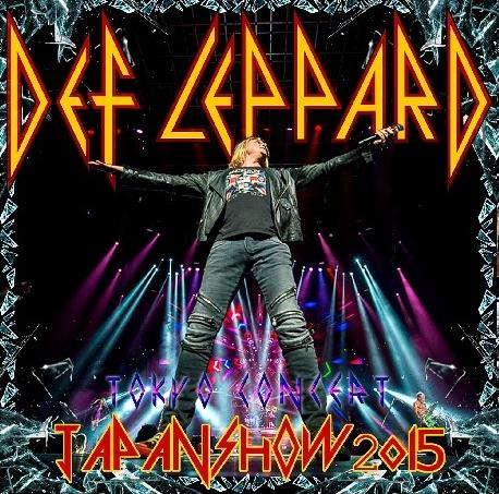 コレクターズCD  2015年デフ・レパード (Def Leppard)日本公演