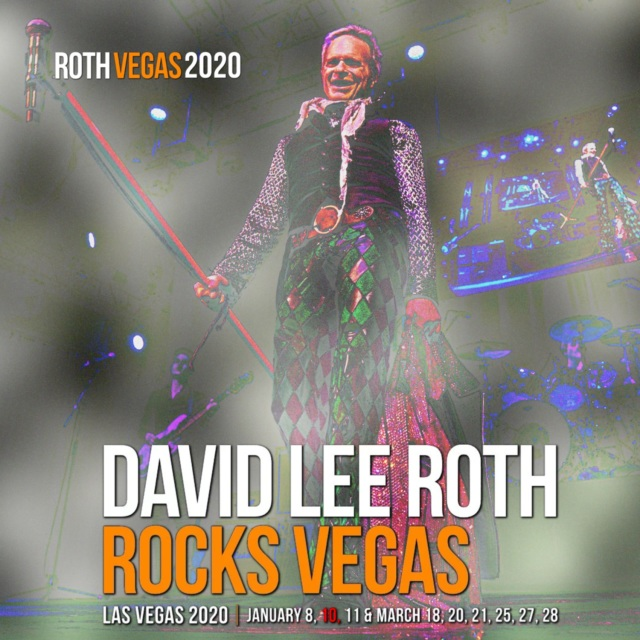 コレクターズCD David Lee Roth - Rocks Vegas 2020