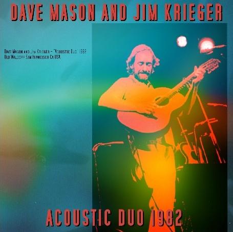 コレクターズCD デイヴメイソン 1982年アメリカツアー