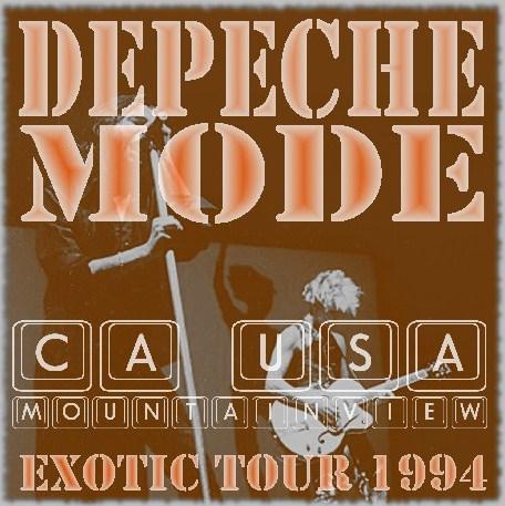 コレクターズCD デペッシュ・モード 1994年 アメリカツアー