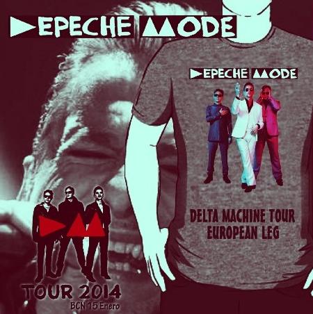 コレクターズCD デペッシュ・モード2014年 ヨーロッパツアー