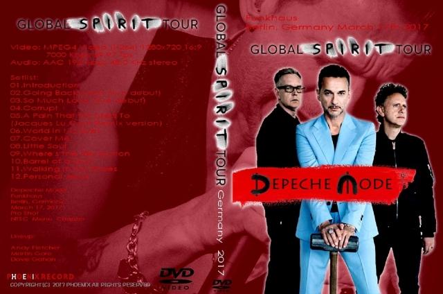 コレクターズDVD デペッシュ・モード(Depeche Mode)2017年ヨーロッパツアー