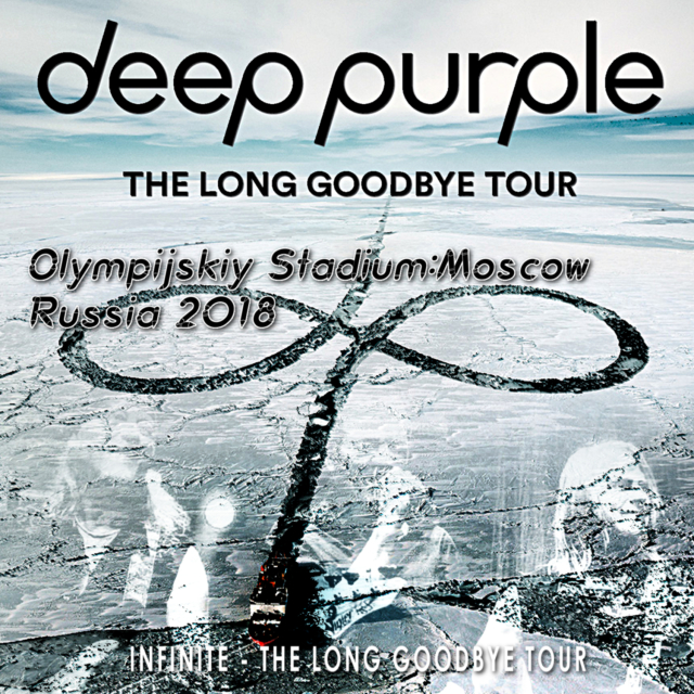コレクターズCD Deep Purple - The Long Goodbye Tour 2018