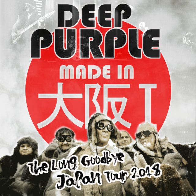 コレクターズCD Deep Purple - The Long Goodbye Japan Tour 2018