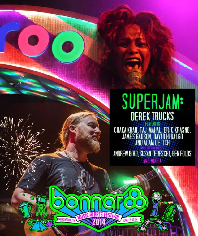 コレクターズBlu-ray  Derek Trucks & friends at Bonnaroo 2014
