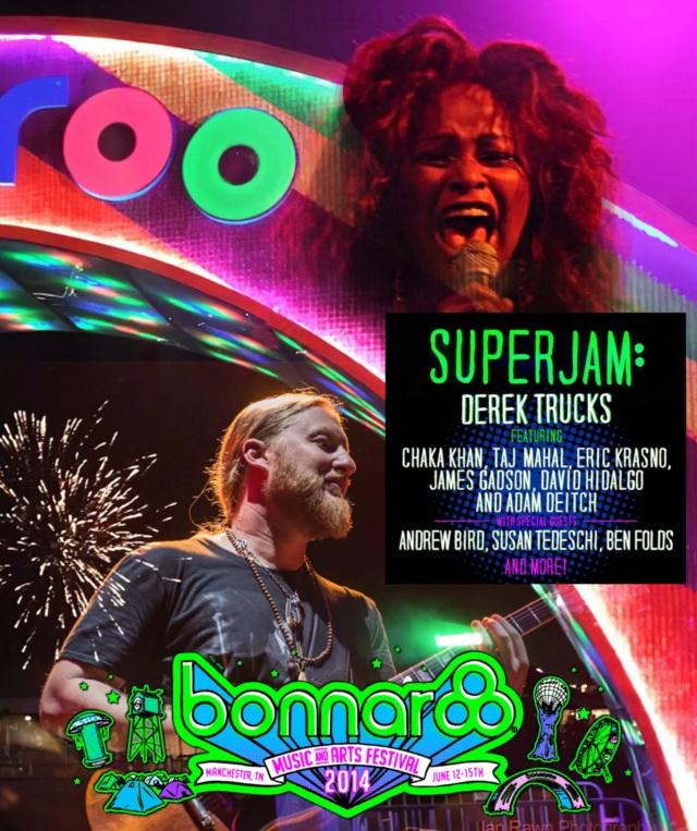 コレクターズBlu-ray  Derek Trucks & friends at Bonnaroo 2014