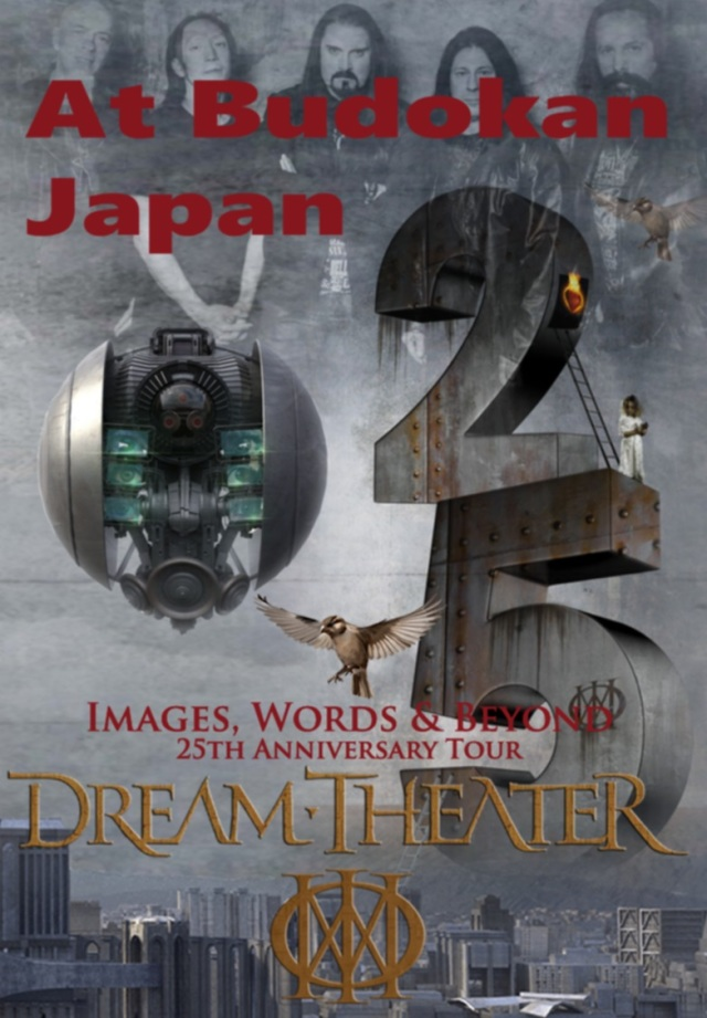 コレクターズDVD Dream Theater - Images, Words & Beyond 25th Anniversary Japan Tour 2017