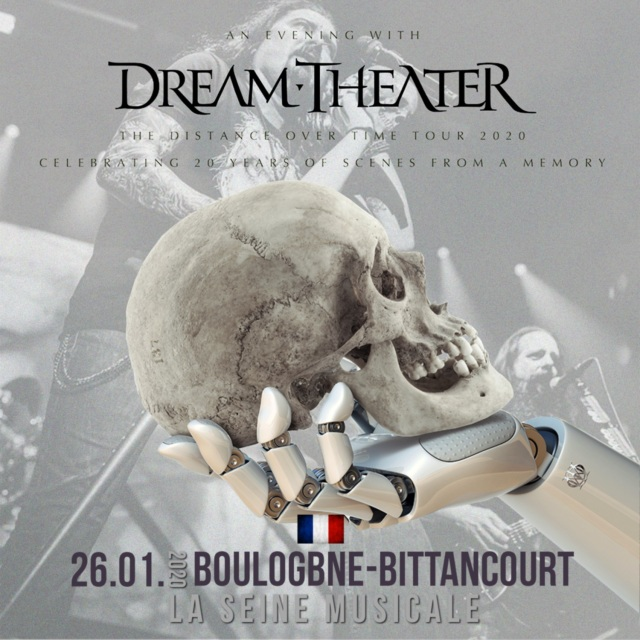 コレクターズCD Dream Theater - Distance over Time Tour 2020