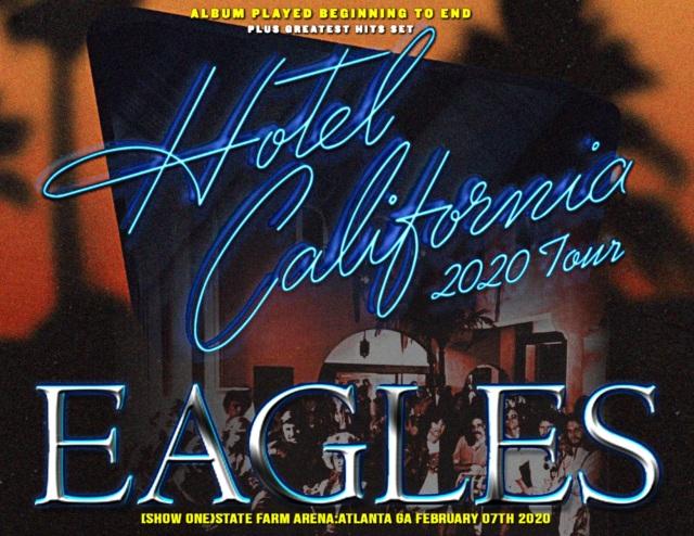 コレクターズCD The Eagles - Hotel California 2020 Tour