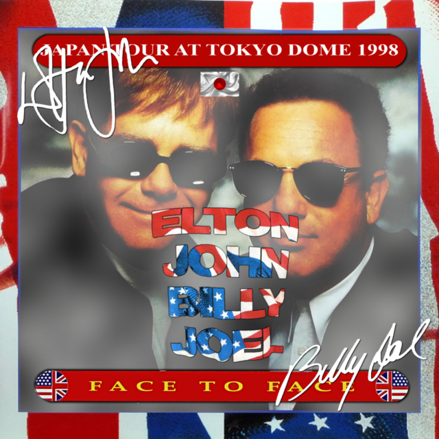 コレクターズCD Elton John & Billy Joel - Face to Face Japan Tour 1998