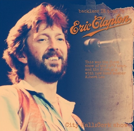 コレクターズCD エリッククラプトン1979年 アイルランド