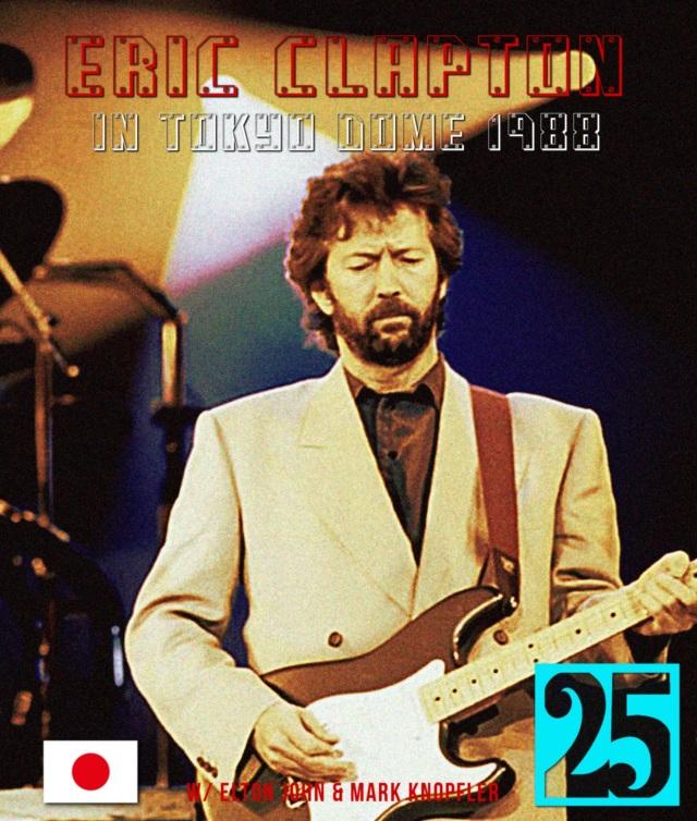 コレクターズBlu-ray Eric Clapton 1988 Japan tour