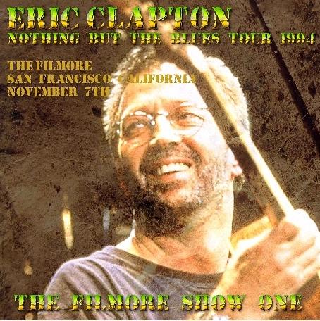 コレクターズCD エリッククラプトン 1994年アメリカツアー (Nothing But the Blues Tour)
