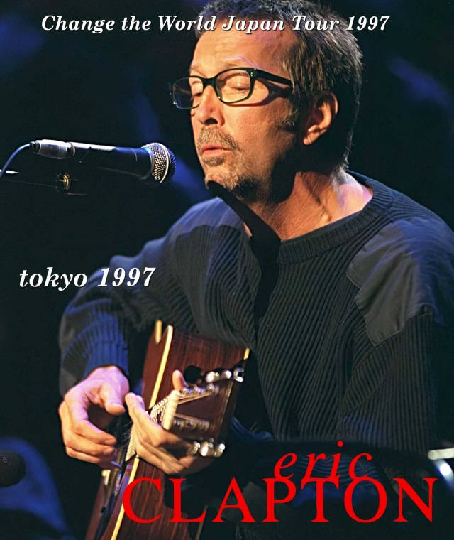 コレクターズBlu-ray  Eric Clapton - Change the World Japan Tour 1997