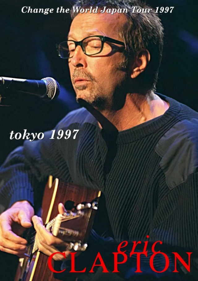 コレクターズDVD Eric Clapton - Change the World Japan Tour 1997