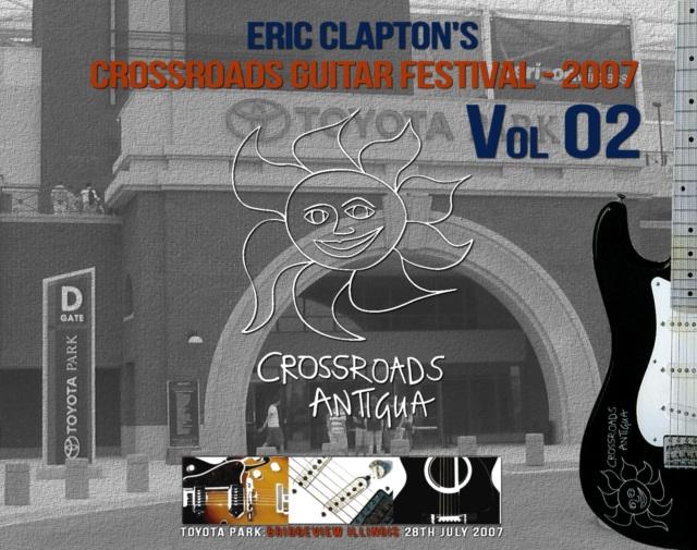 コレクターズCD Eric Clapton's Crossroads Guitar Festival - 2007