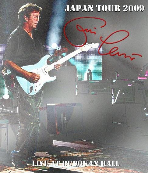 コレクターズBlu-ray Eric Clapton - Japan Tour 2009