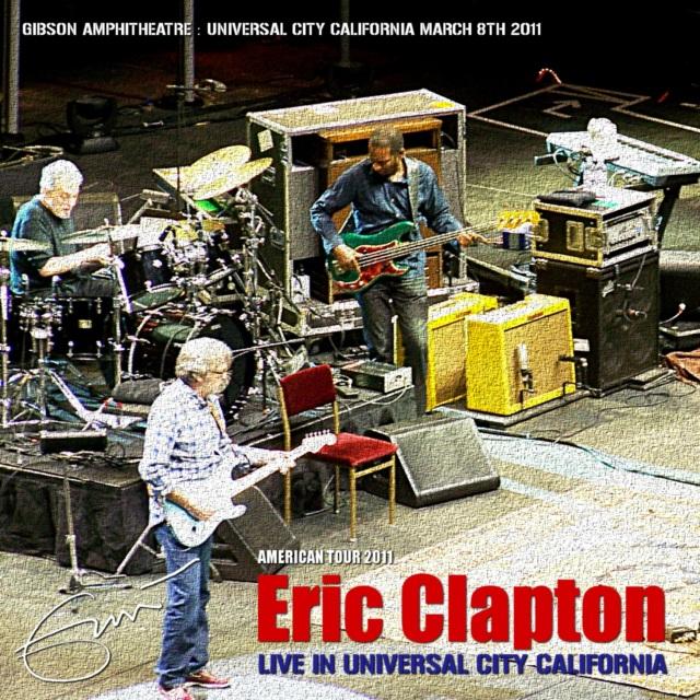 コレクターズCD Eric Clapton - US Tour 2011