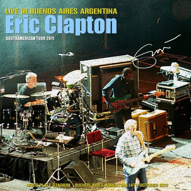コレクターズCD Eric Clapton - South American Tour 2011