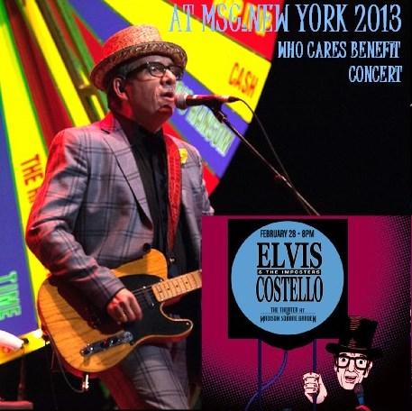 コレクターズCD エルヴィス・コステロ(Elvis Costello) 2013年ニューヨーク
