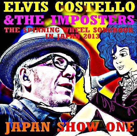 コレクターズCD エルヴィス・コステロ2013年 日本公演 東京