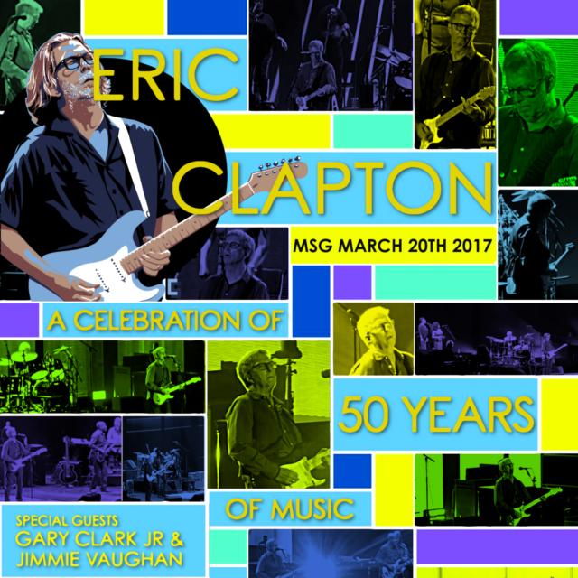 コレクターズCD エリック クラプトン 2017年ニューヨーク