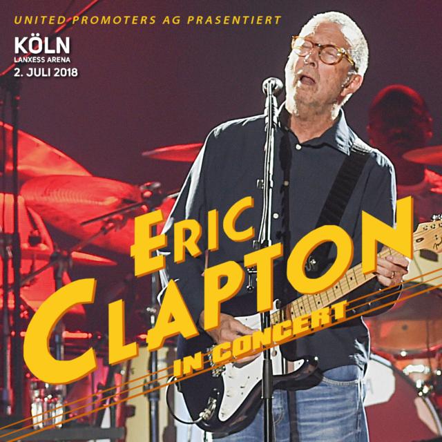 コレクターズCD Eric Clapton - World Tour 2018