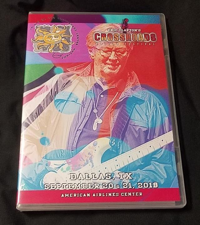 コレクターズDVD Eric Clapton - Crossroads Guitar Festival 2019