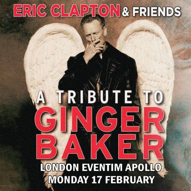 コレクターズCD Eric Clapton And Friends - A Tribute To Ginger Baker 2020
