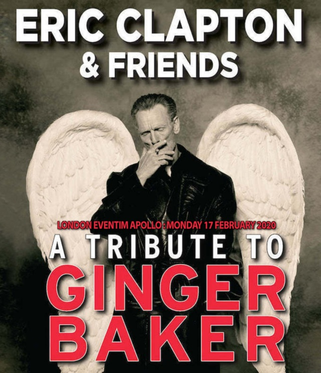 コレクターズBlu-ray Eric Clapton&Friends - A Tribute To Ginger Baker 2020