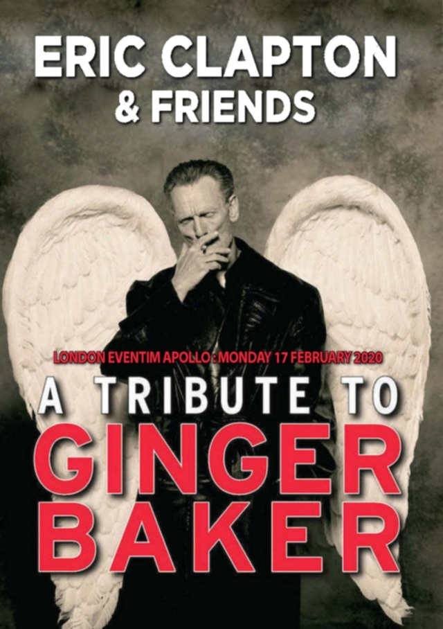 コレクターズDVD Eric Clapton&Friends - A Tribute To Ginger Baker 2020