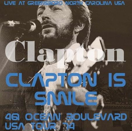 コレクターズCD Eric Clapton(エリッククラプトン)74年アメリカツアー