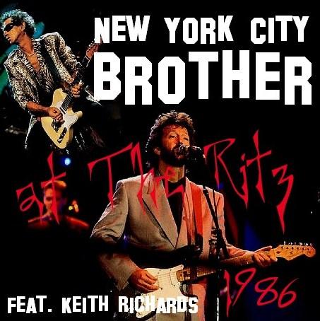 コレクターズCD Eric Clapton(w/Keith Richards 86年アメリカ公演)86.11.23