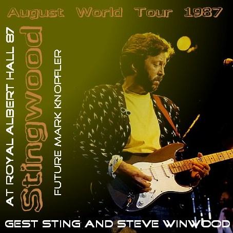 コレクターズCD Eric Clapton(エリッククラプトン  w/Mark Knopfler 87年 UK公演)87.01.08